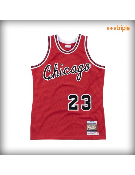 AUTHENTIC JERSEY JORDAN BULLS RED