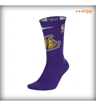 NIKE ELITE CREW LAKERS