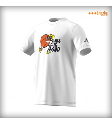 T-SHIRT STRIPE BASKETBALL KID