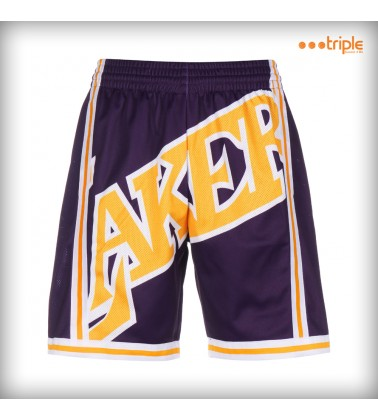 BIG FACE SHORT LAKERS 96/97