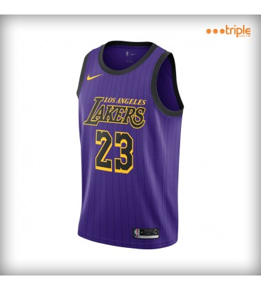 LAKERS CITY JERSEY - JAMES