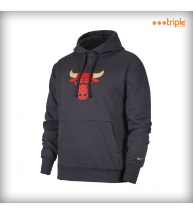 BULLS PULLOVER FLEECE CITY...