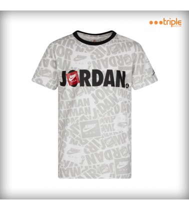 JUMPMAN BY NIKE SPLASH TEE KID